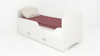Кровать CLASSIC «БЕЛАЯ» с ящиками