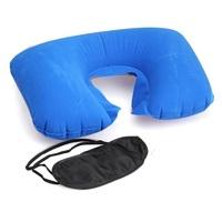 Подушка надувная + маска для сна