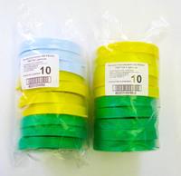 Набор 10 шт. Крышка пластиковая d82 ГОСТ КХ-1  Цветная