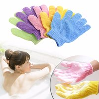 Мочалка-перчатка для душа и пилинга 2 шт