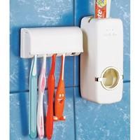 Органайзер-дозатор для пасты и зубных щеток оптом