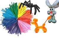 Шары воздушные цветные для моделирования 50шт