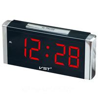 Часы настольные VST 731-1 красные цифры
