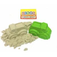 Песок кинетический 450 гр + 1 формочка (транспорт)