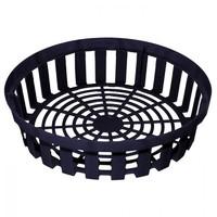 Корзина для луковичных цветов круглая, черная d30 см