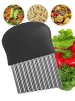 Нож для фигурной резки овощей и фруктов, пластиковая ручка