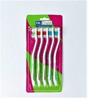 """Набор цветных зубных щеток """"Dr. Crust"""" 5 шт"""