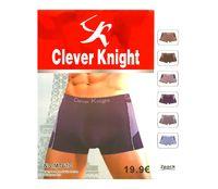"Трусы-боксеры мужские ""Clever Knight"", 2 шт, арт.7610"