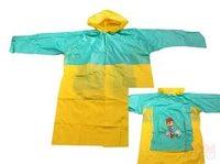 Плащ-дождевик детский под рюкзак