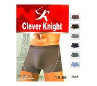 "Трусы-боксеры мужские ""Clever Knight"", 2 шт, арт.7701"