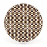 Поднос круглый с антискользящим покрытием, 35 см