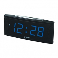 Часы настольные VST 719-5 синие цифры