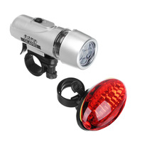 Набор велосипедных фонарей (передний+задний) 2шт