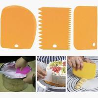 Набор шпателей для торта, 3шт
