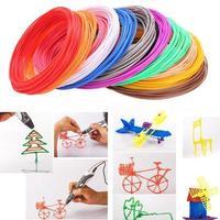 Набор цветного ABS-пластика для 3D-ручек 10м, 20 цветов