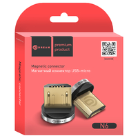 Магнитный коннектор DREAM MicroUSB N6