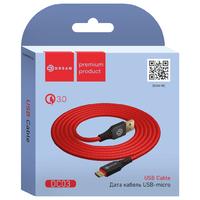 Кабель Dream DC03, Micro USB, Красный