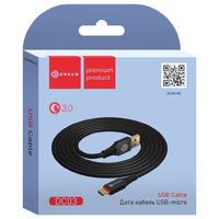 Кабель Dream DC03, Micro USB, Чёрный