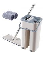 Набор для уборки Scratch Cleaning mop швабра и ведро с отжимом, Mini