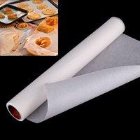 Бумага для выпечки силиконизированная белая 380мм/25метров