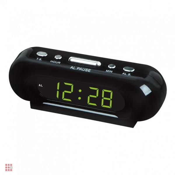 Часы настольные VST 716-2 зеленые цифры