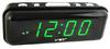 Часы настольные VST 738-4 зелёные цифры