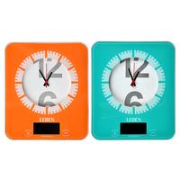 Весы кухонные электронные с Часами, до 5кг