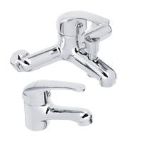 Набор смесителей для раковины и ванны