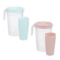 Набор посуды для питья Кувшин + стаканы, 6 пр.