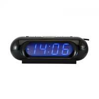 Часы настольные VST 716-5 синие  цифры