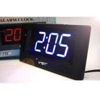 Часы настольные VST 732-5 синие цифры