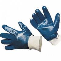 Перчатки ХБ с покрытие нитрил