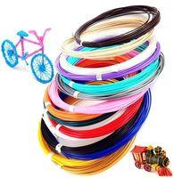 Набор цветного PLA-пластика для 3D-ручек 10м, 15 цветов