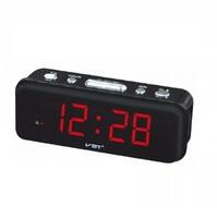 Часы настольные VST 738-1 красные цифры