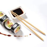 Бамбуковые палочки для суши, роллов, 100 пар, 23см