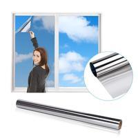 Пленка-штора солнцезащитная зеркальная для окон, 60смх3м