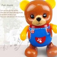 """Музыкальная игрушка """"Танцующий медведь"""""""