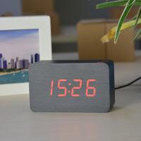 Электронные часы в деревянном корпусе VST-863-1