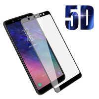 Защитное 5D стекло для Samsung Galaxy A6 Plus