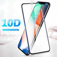 Защитное 10D стекло для Iphone X/XS/11 Pro