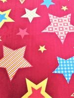 """Детский велюровый ковёр """"Звёзды"""", 1х1,5 м, розовый"""
