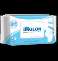 Влажная туалетная бумага Mon Rulon (с пластиковым клапаном), 50шт