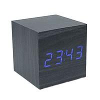 Электронные часы в деревянном корпусе VST-869-5