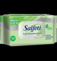 Влажные Антибактериальные салфетки Salfeti MEGA PACK 100шт