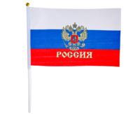 Флаг РОССИЯ, 40х60 см