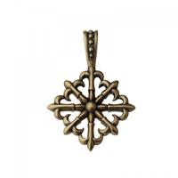 Оберег «Крест с лилиями»