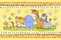 """Детский велюровый ковёр """"Африка"""", 1х1,5 м"""