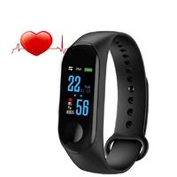 Фитнес-браслет Intelligence Health Bracelet M3 цветной дисплей