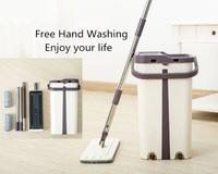 Набор для уборки MOP Scratch Cleaning mop швабра и ведро с отжимом