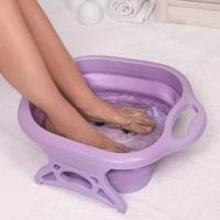 Ванночка для ног, складная с массажными роликами